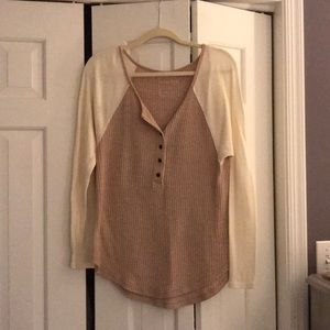 Free people Henley thermal